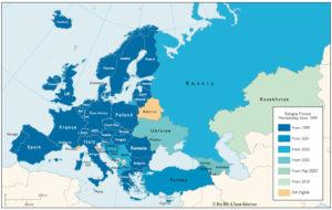 Estudiar a Europa